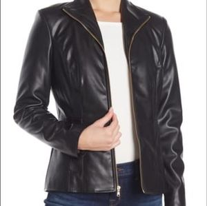 Cole Haan Signature faux leather jacket